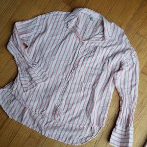 Womens button up shirt